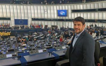 Ορκίστηκε ευρωβουλευτής ο Αλέξης Γεωργούλης