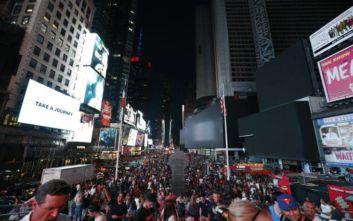 Βλάβη στο δίκτυο ηλεκτροδότησης στο Μανχάταν, έσβησαν τα φώτα και στην εμβληματική Time Square