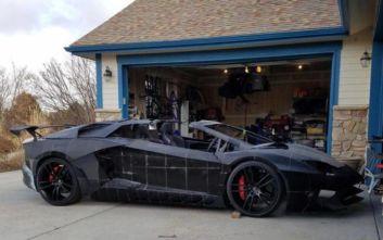 Πατέρας και γιος κατασκευάζουν μια Lamborghini σε τρισδιάστατο εκτυπωτή