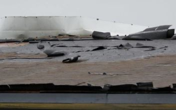 Ο κυκλώνας Μπάρι έφτασε στη Λουιζιάνα, εξασθένισε σε τροπική καταιγίδα