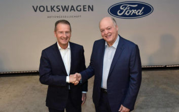 Δίνουν τα χέρια Ford και Volkswagen
