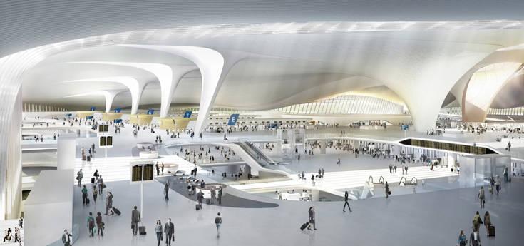 Το μεγαλύτερο αεροδρόμιο στον κόσμο βρίσκεται στην Κίνα 2