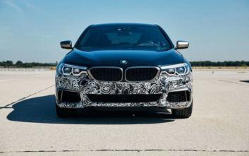 Η BMW αποκαλύπτει το όχημα δοκιμών της