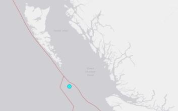 Σεισμός τώρα στον Καναδά