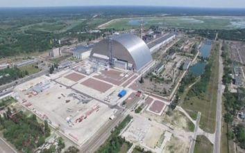 Νέα σαρκοφάγο για τον τέταρτο πυρηνικό αντιδραστήρα απέκτησε το Τσερνόμπιλ