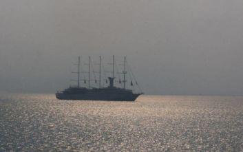 Κατέπλευσε στα Χανιά ένα από τα μεγαλύτερα ιστιοφόρα κρουαζιερόπλοια