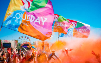 Γέμισε χρώμα η Αθήνα στο Colour Day Festival 2019