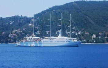 Στο λιμάνι του Βόλου σήμερα το κρουαζιερόπλοιο - ιστιοφόρο «Club Med 2»