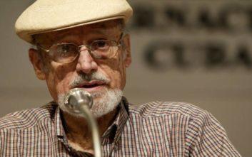 Απεβίωσε ο ποιητής Ρομπέρτο Φερνάντες Ρεταμάρ, συνεργάτης του Φιντέλ Κάστρο