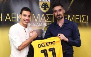 ΑΕΚ: Και επίσημα κιτρινόμαυρος ο Ντέλετιτς
