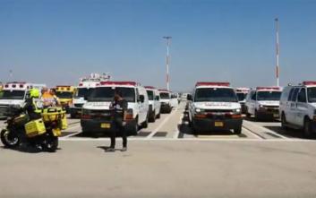 Συναγερμός σε αεροδρόμιο του Ισραήλ για έκτακτη προσγείωση αεροσκάφους