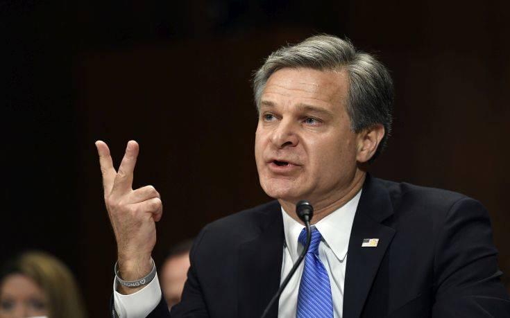 Διευθυντής FBI: Οι Ρώσοι σκοπεύουν να παρέμβουν στις αμερικανικές εκλογές