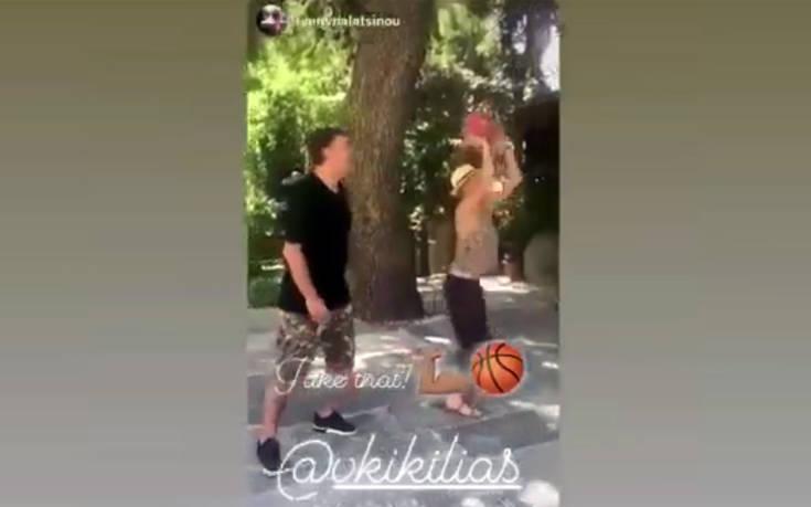 Ο Κικίλιας μαθαίνει στην Μπαλατσινού μπάσκετ