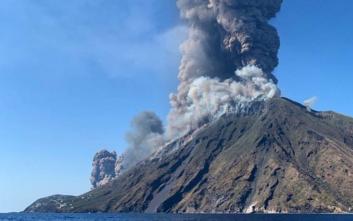 Ένας νεκρός από την έκρηξη του ηφαιστείου Στρόμπολι