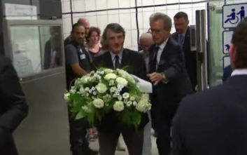 Νταβίντ Σασόλι: Η συμβολική χειρονομία του για τα θύματα της τρομοκρατίας