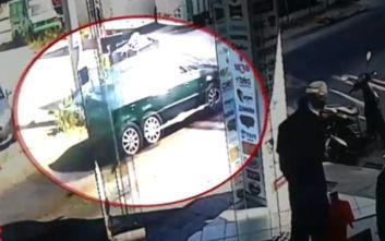 Βίντεο-ντοκουμέντο με το κλεμμένο όχημα του Μεταγωγών στο Ίλιον