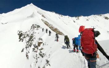 Ανατριχιαστικό βίντεο με τις τελευταίες στιγμές των οκτώ ορειβατών που σκοτώθηκαν στα Ιμαλάια