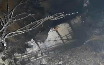 Κατεχόμενα: «Ρωσικής κατασκευής πύραυλος» το ιπτάμενο αντικείμενο που συνετρίβη