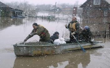 Ρωσία: Έφτασαν τους 18 οι νεκροί από τις πλημμύρες στη Σιβηρία