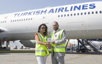 O Διεθνής Αερολιμένας Αθηνών βράβευσε την Turkish Airlines