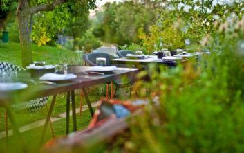 Δροσεροί κήποι στο κέντρο για φαγητό και ποτάκι
