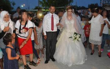Γλίτωσαν το θάνατο στη Συρία, παντρεύτηκαν στο Κέντρο Φιλοξενίας στη Λέσβο