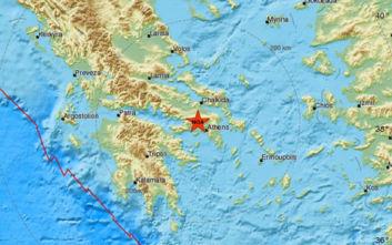 Ισχυρός σεισμός στην Αττική: Δύο ελικόπτερα περιπολούν πάνω από την περιοχή