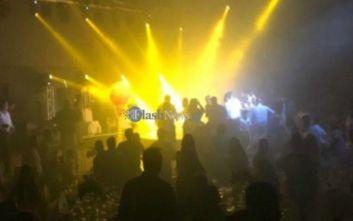Αναστάτωση σε γαμήλιο γλέντι στην Κρήτη, κατέρρευσε γυάλινο αναβατόριο
