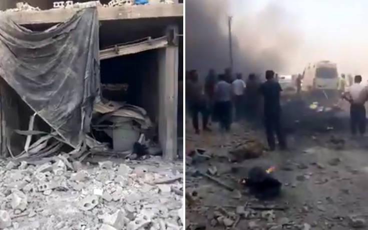 Νέο αιματοκύλισμα στη Συρία: Τουλάχιστον 11 νεκροί από παγιδευμένο αυτοκίνητο