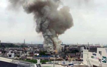 Ιαπωνία: Φωτιά σε στούντιο κινουμένων σχεδίων, ένας νεκρός και δεκάδες τραυματίες
