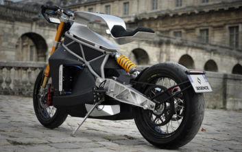 Εκεί που η μοτοσικλέτα μετατρέπεται σε μεταλλικό γλυπτό