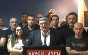 Νίκος Μιχαλολιάκος για ήττα Χρυσής Αυγής: Επιστρέφουμε εκεί όπου γίναμε δυνατοί, στους δρόμους