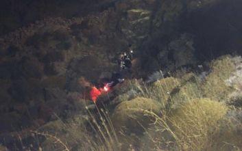 Τουρίστρια έπεσε με γουρούνα σε γκρεμό 20 μέτρων στη Μύκονο