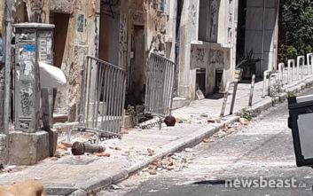 Φωτογραφίες από την Αθήνα μετά τον ισχυρό σεισμό