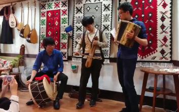 Ιάπωνες τραγουδούν ποντιακά στο Κιότο