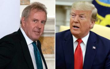 Παραιτήθηκε ο Βρετανός πρεσβευτής μετά από τις προσβολές του Ντόναλντ Τραμπ