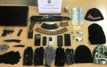 Φυγόδικος και 30χρονος συνεργός του συνελήφθησαν στην Αρτέμιδα