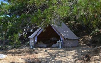 Airbnb στη Γαύδο: Αυτές ήταν οι σκηνές που ενοικιάζονται