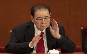 Έφυγε από τη ζωή ο πρώην πρωθυπουργός της Κίνας Λι Πενγκ