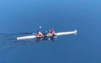 Χρυσό μετάλλιο για Κυρίδου-Τσαμοπούλου στο Παγκόσμιο κωπηλασίας