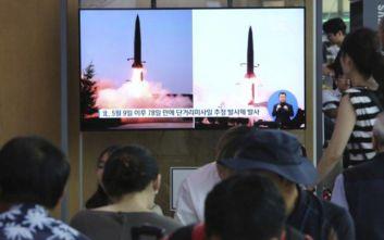 Νέα εκτόξευση δύο βαλλιστικών πυραύλων «αγνώστου τύπου» από τη Β. Κορέα