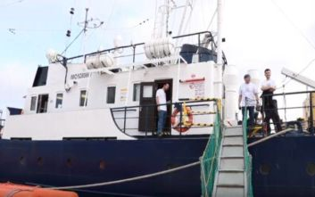 To γερμανικό πλοίο Alan Kurdi διέσωσε 65 μετανάστες ανοιχτά της Λιβύης