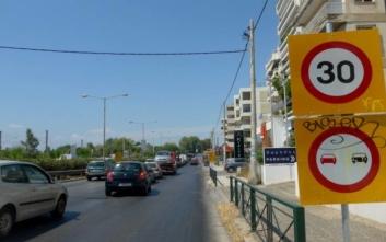 Διακοπή στην κυκλοφορία οχημάτων στη νέα λεωφόρο Ποσειδώνος