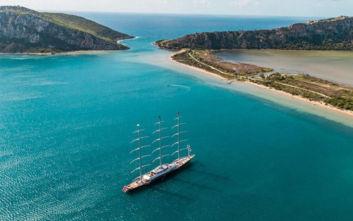 Βασιλικές διακοπές στη Μεσόγειο με το θρυλικό τρικάταρτο superyacht