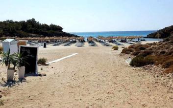 Μια μικρή παραλία με μεγάλη απήχηση στη Λήμνο
