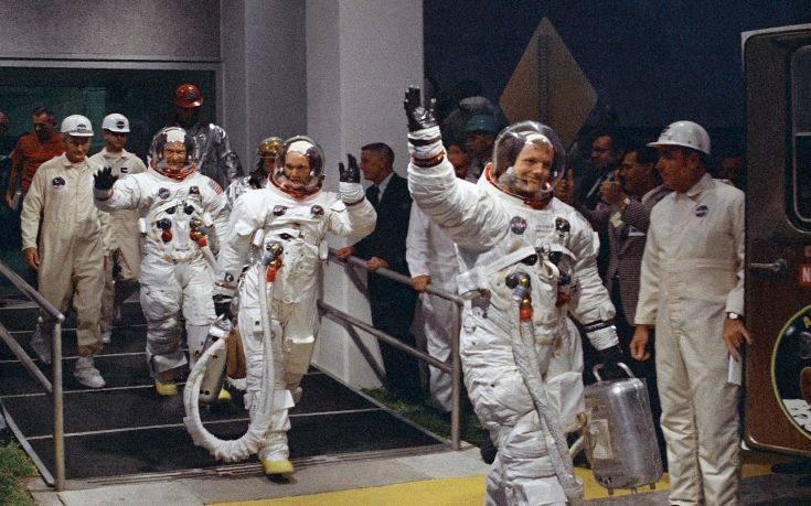 Η NASA γιορτάζει την επέτειο του Apollo 11 και περιμένει την επιστροφή στη Σελήνη