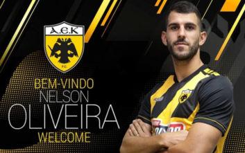 AEK: Ανακοινώθηκε ο Νέλσον Ολιβέιρα