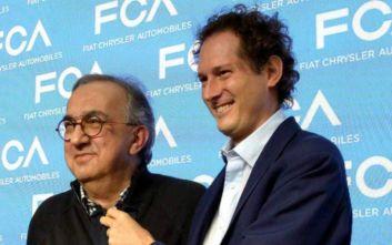 Ο πρόεδρος της Fiat τιμά τη μνήμη του Sergio Marchionne