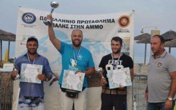 «Μάγεψε» το Πανελλήνιο Πρωτάθλημα Πάλης στην Άμμο