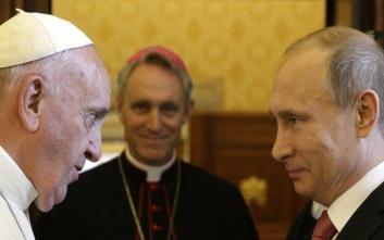 Τι θα συζητήσει ο Πάπας με τον Πούτιν στην αυριανή συνάντηση στο Βατικανό